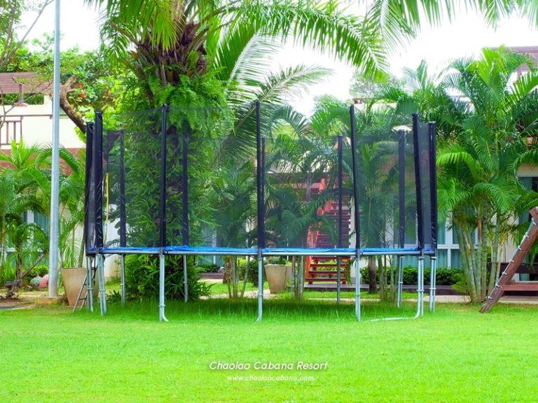 Chaolao Cabana Resort : Trampoline Jump