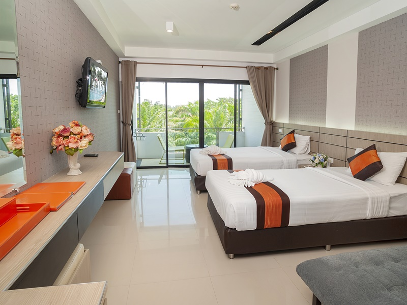 Chaolao Cabana Resort : ห้องดีลักซ์