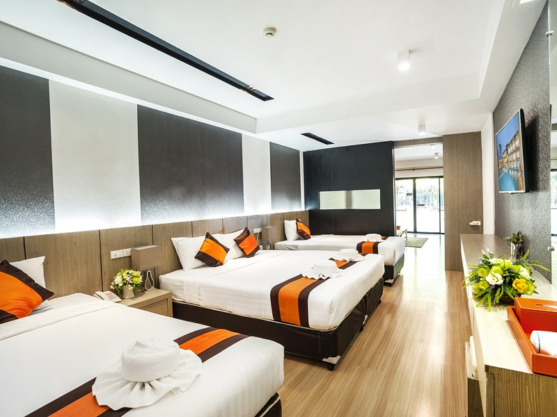 Chaolao Cabana Resort : ห้องแฟมิลี่ ดีลักซ์