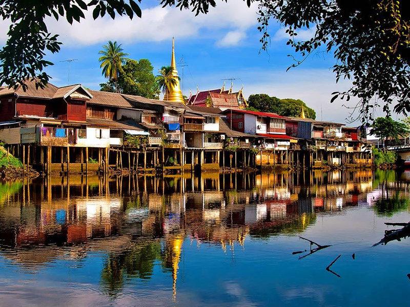 Chaolao Cabana Resort ชุมชนริมน้ำจันทบูร