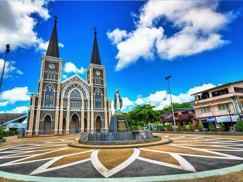Chaolao Cabana Resort อาสนวิหารพระนางมารีอาปฏิสนธินิรมล