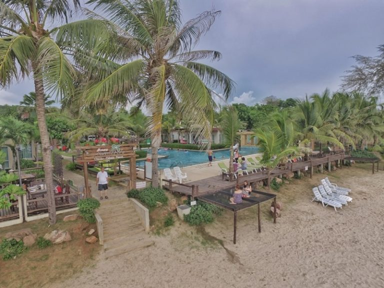 Chaolao Cabana Resort : Top View