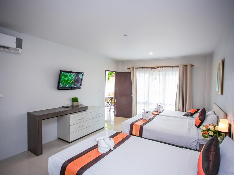 Chaolao Cabana Resort : คาบาน่า วิลล่า
