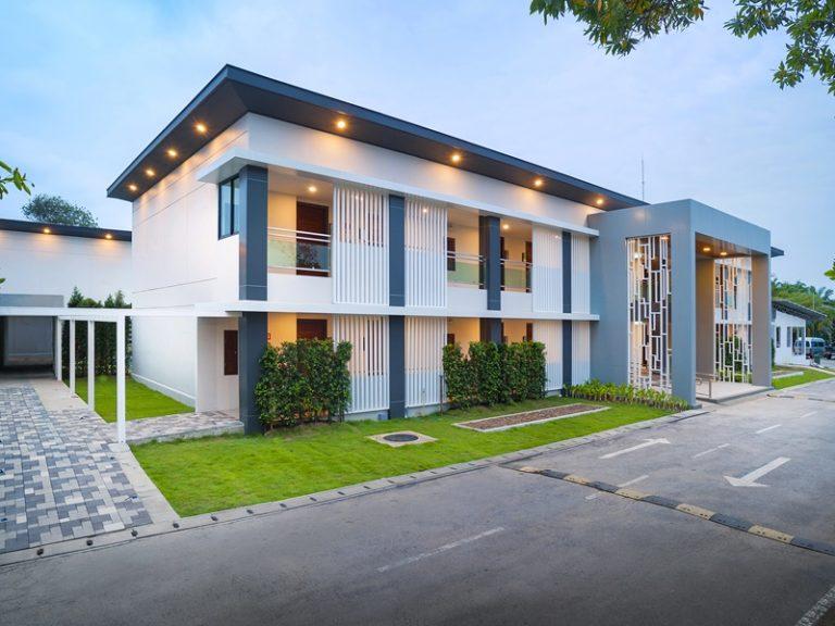 Chaolao Cabana Resort : New building outside>