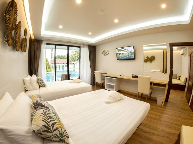 Chaolao Cabana Resort : Deluxe Room Pool View>