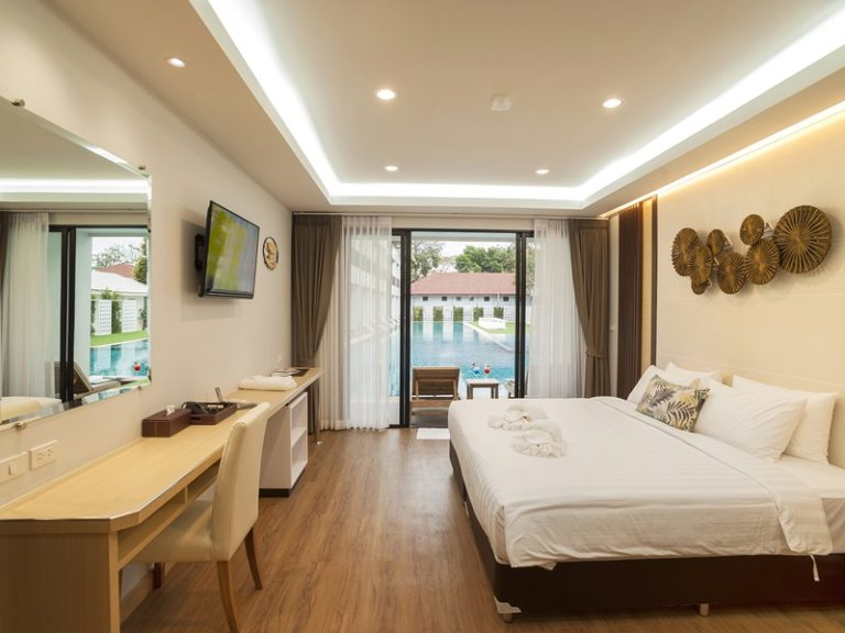Chaolao Cabana Resort : Deluxe Room Pool Access>