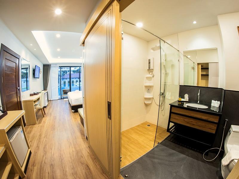 Chaolao Cabana Resort : ห้องดีลักซ์ พูล วิว