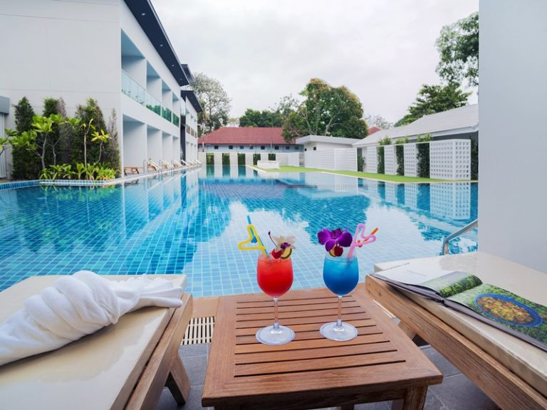 Chaolao Cabana Resort : Deluxe Room Pool View